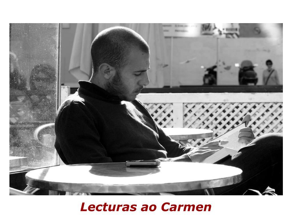 Lecturas ao Carmen