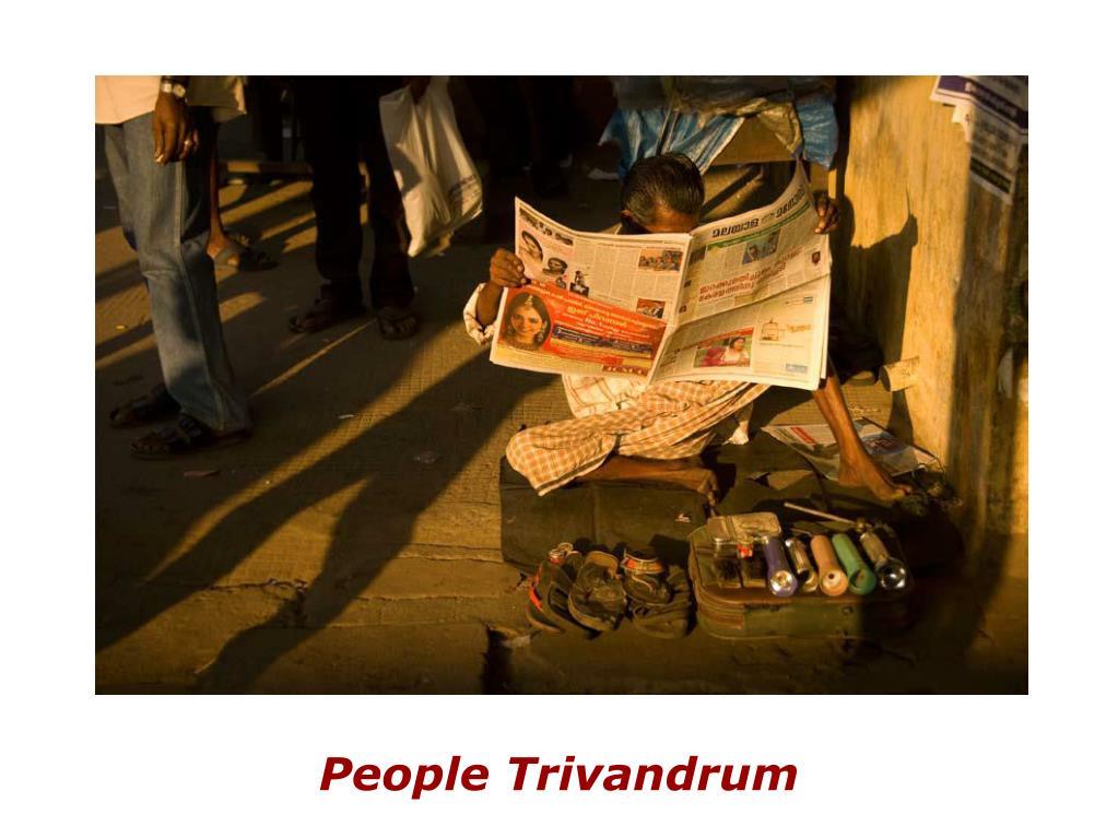 People Trivandrum