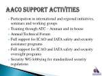aaco support activities
