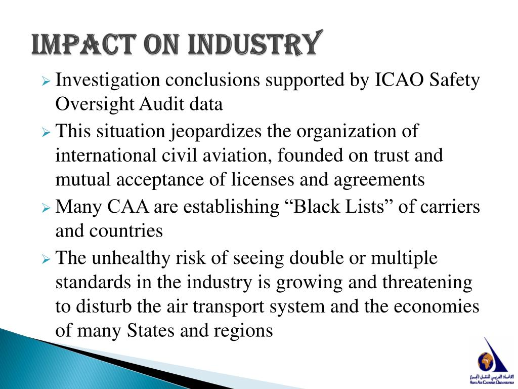 Impact on industry