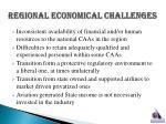 regional economical challenges