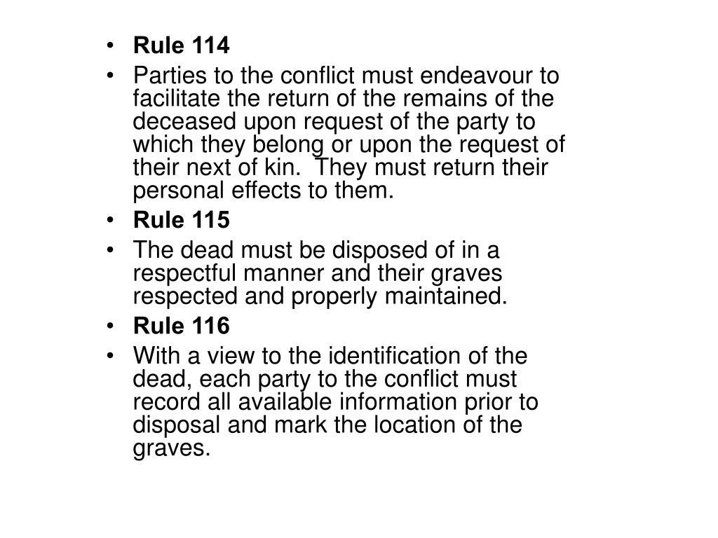 Rule 114
