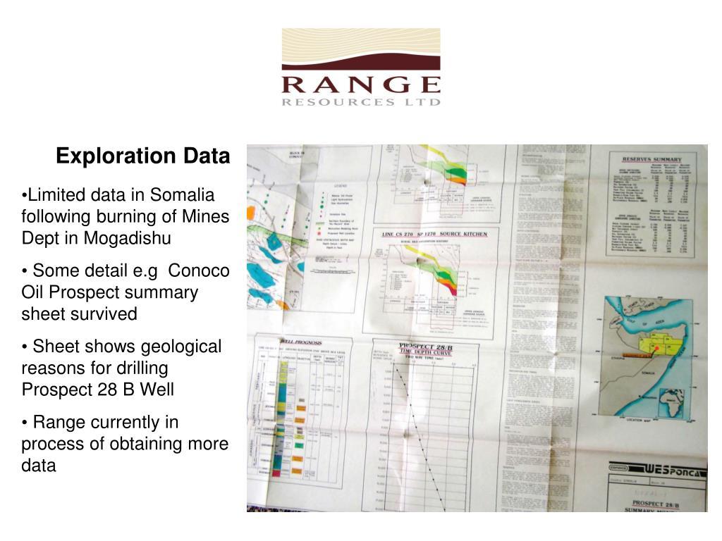 Exploration Data