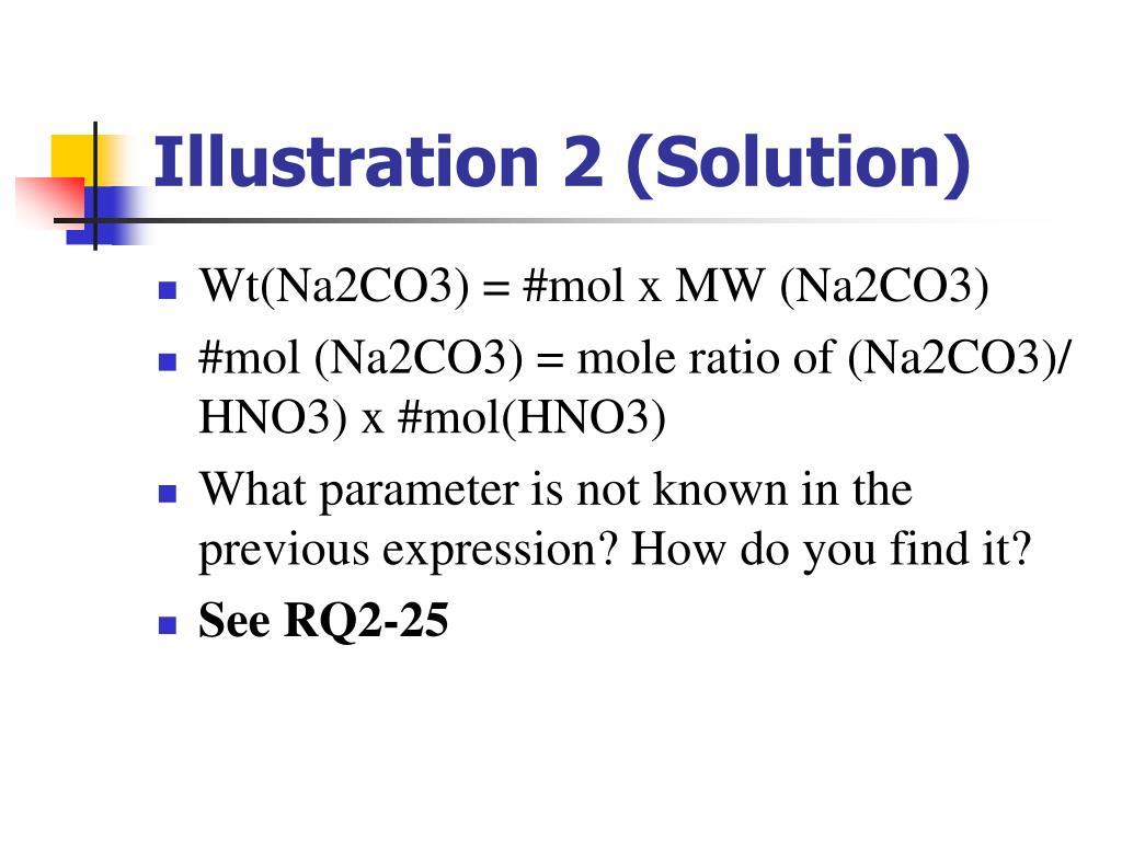 Illustration 2 (Solution)