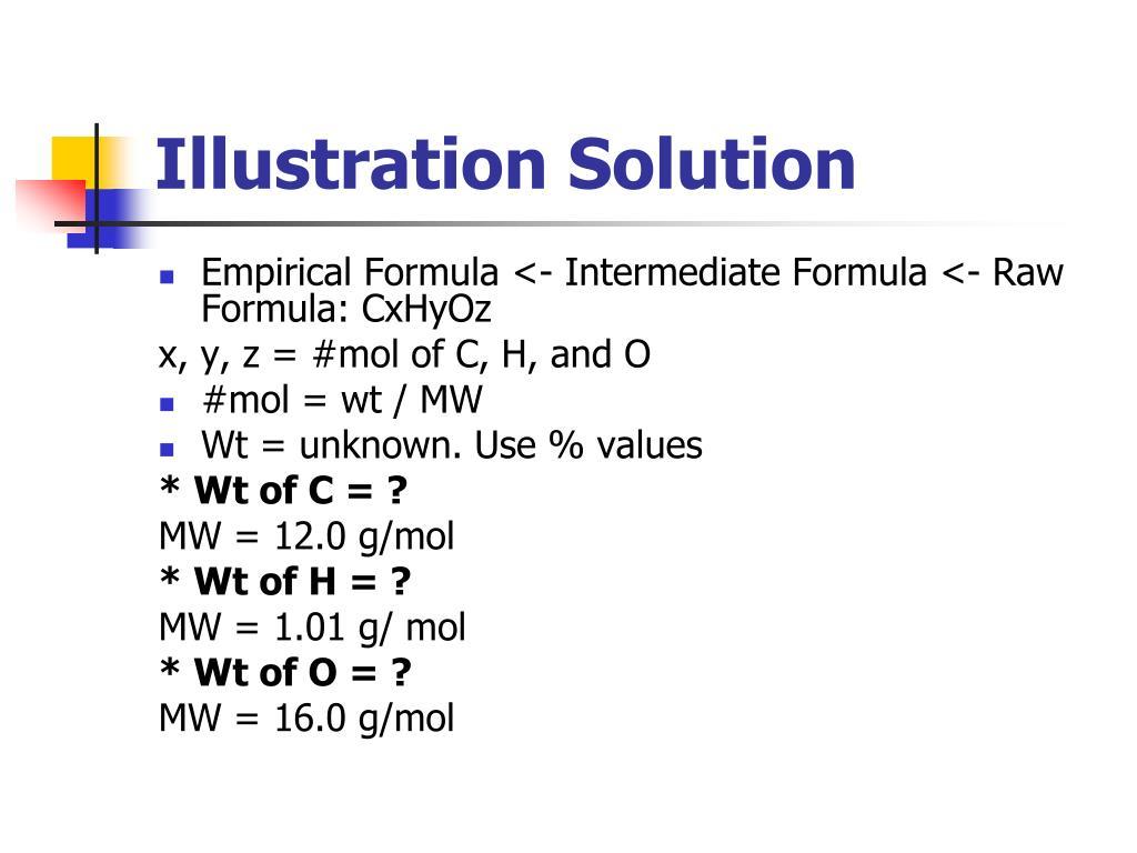 Illustration Solution