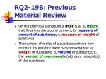 rq2 19b previous material review