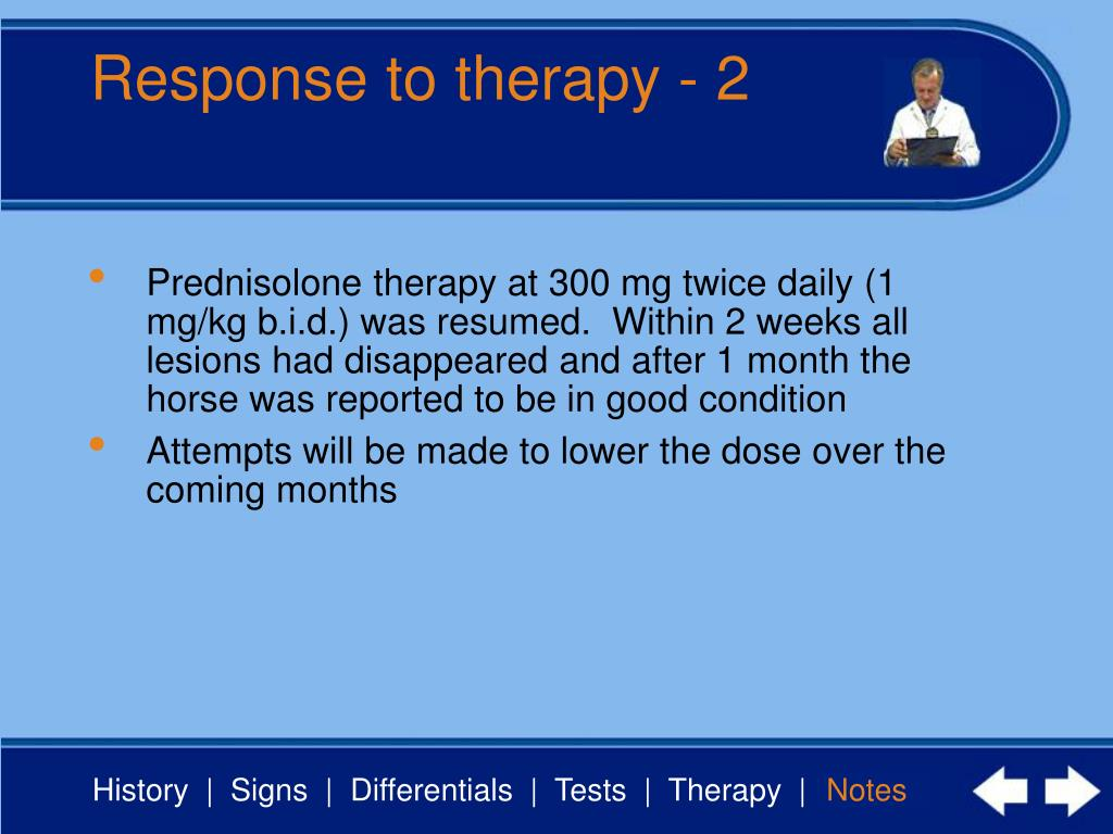Response to therapy - 2