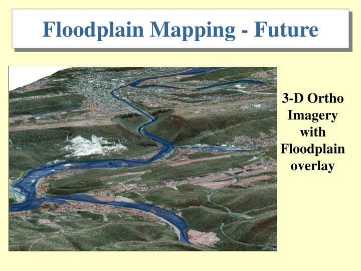 Floodplain Mapping - Future