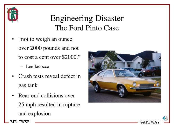 Engineering Disaster