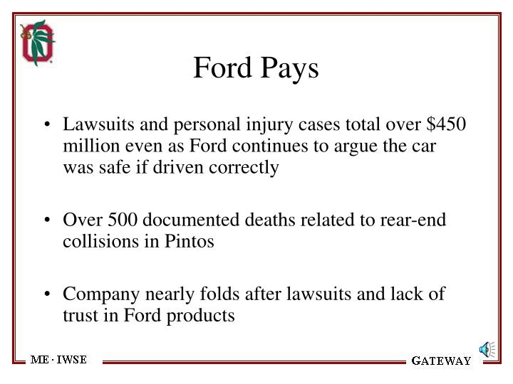 Ford Pays