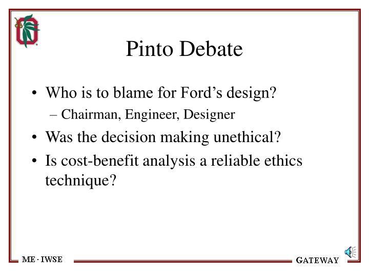 Pinto Debate