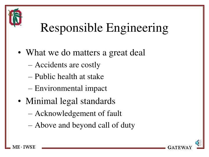 Responsible Engineering