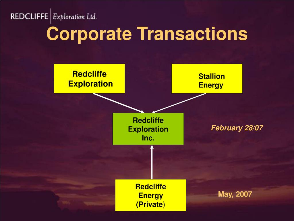 Corporate Transactions