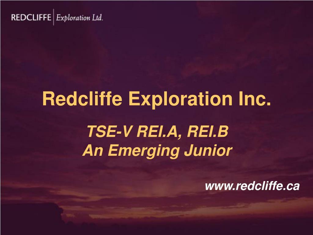 Redcliffe Exploration Inc.