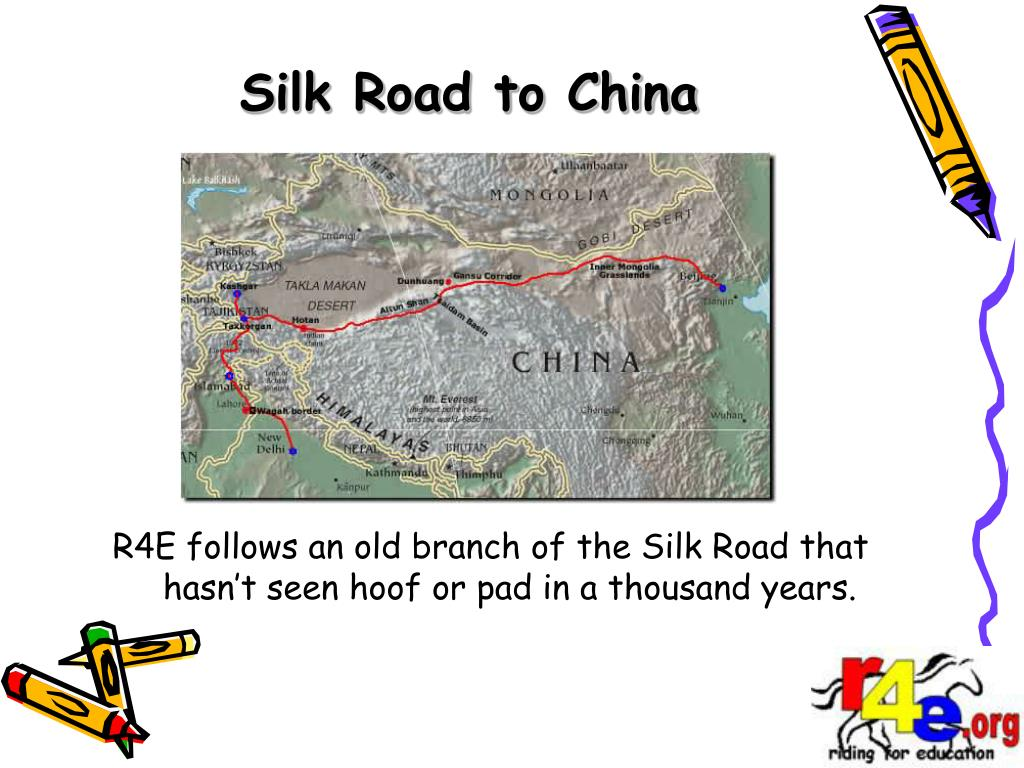 Silk Road to China