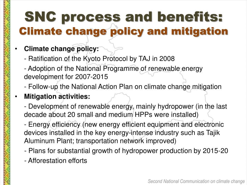 SNC process and benefits: