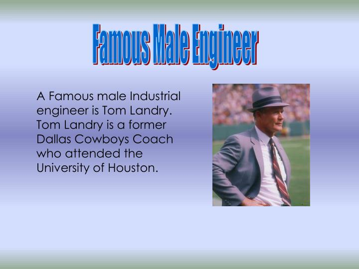 Famous Male Engineer
