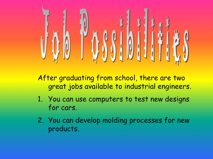Job Possibilities