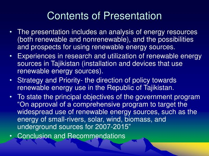 Contents of presentation l.jpg