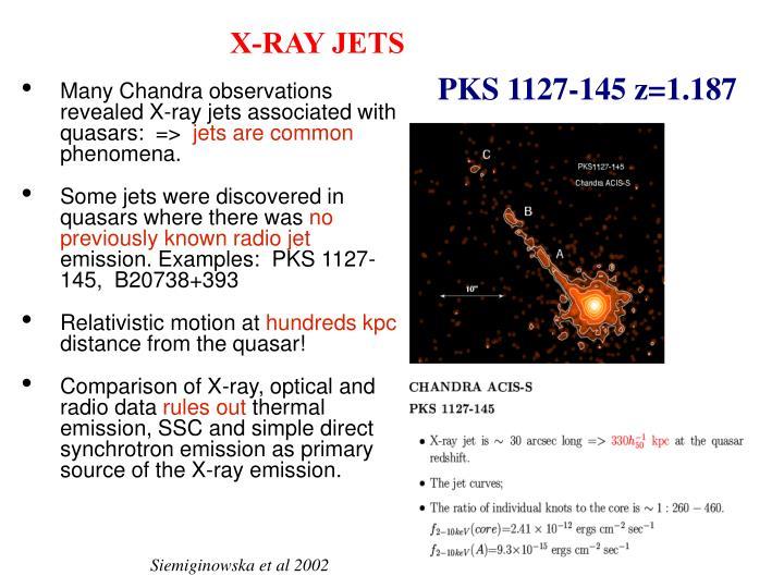 X-RAY JETS