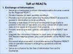 tor of reacts7