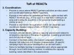 tor of reacts8