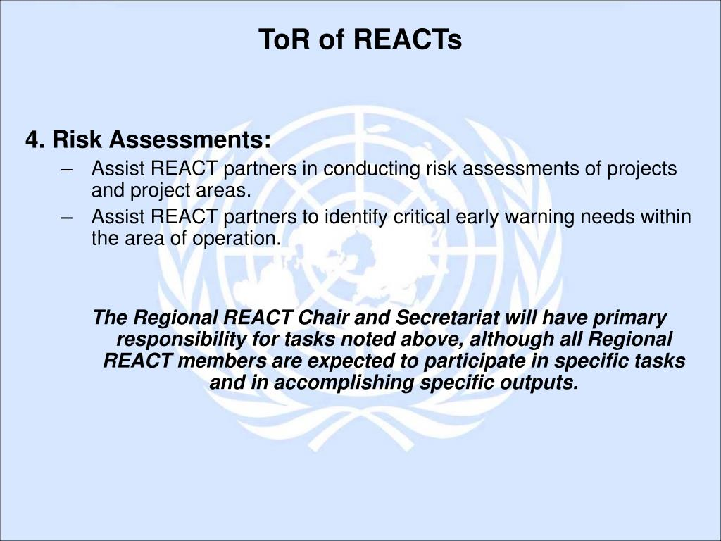 4. Risk Assessments: