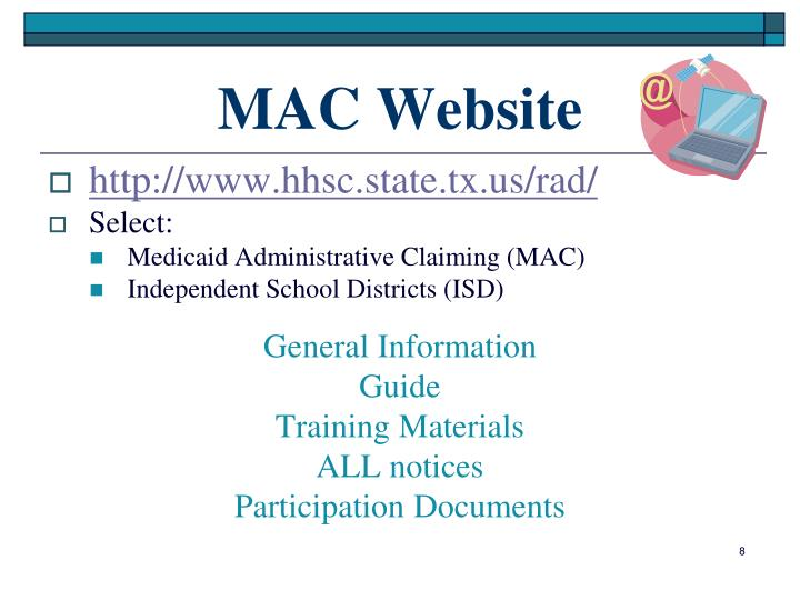 MAC Website