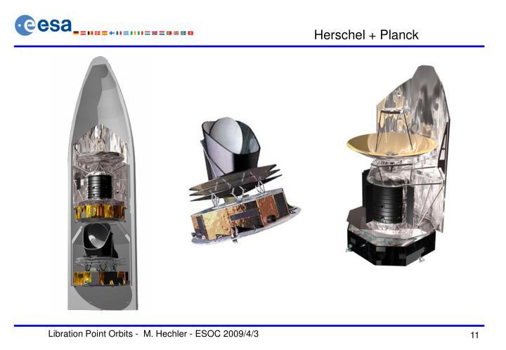 Herschel + Planck