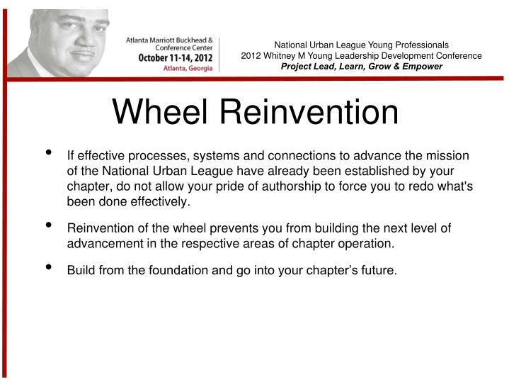 Wheel Reinvention