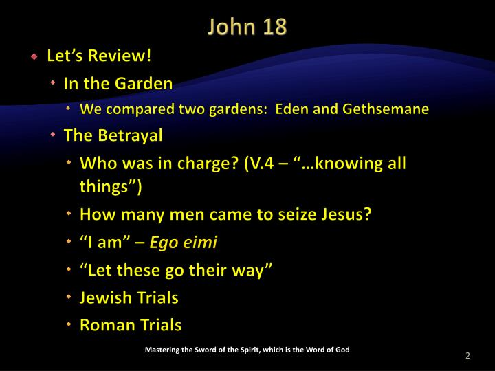 John 18