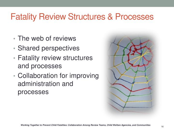 Fatality Review Structures & Processes