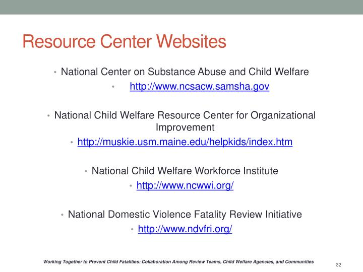 Resource Center Websites