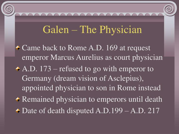 Galen – The Physician