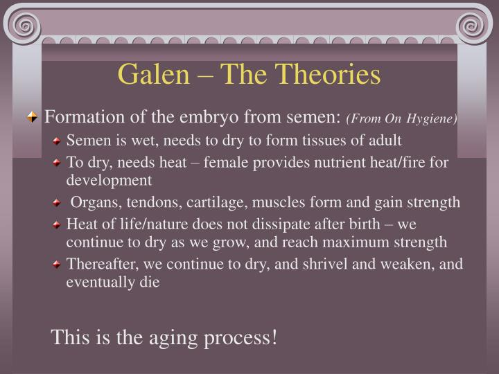 Galen – The Theories