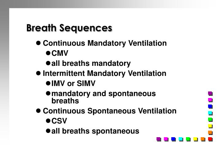Breath Sequences