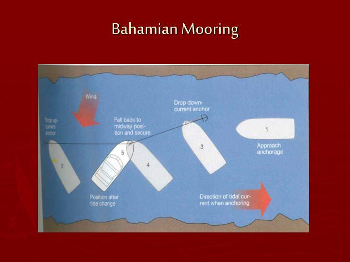 Bahamian Mooring