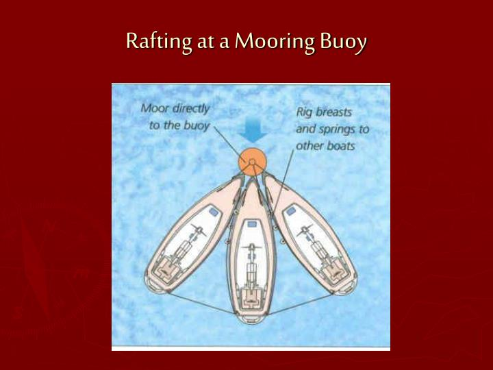 Rafting at a Mooring Buoy