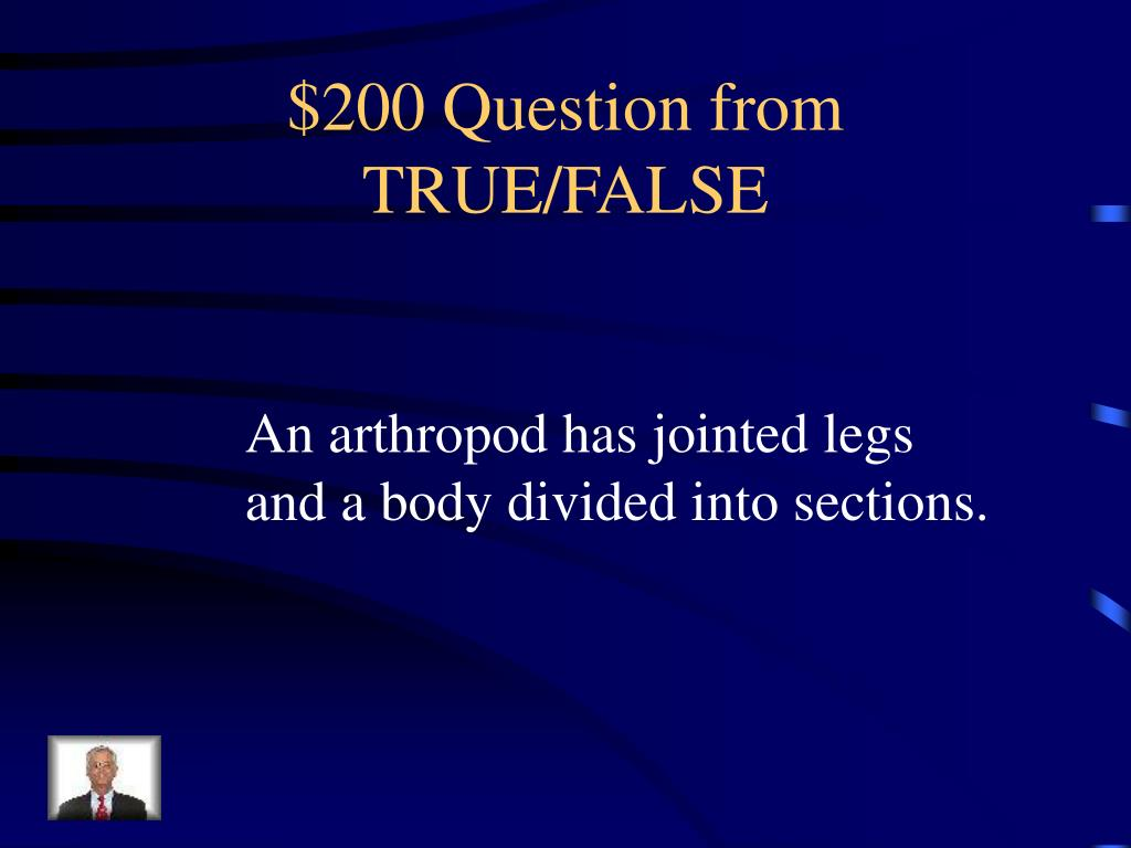 $200 Question from TRUE/FALSE