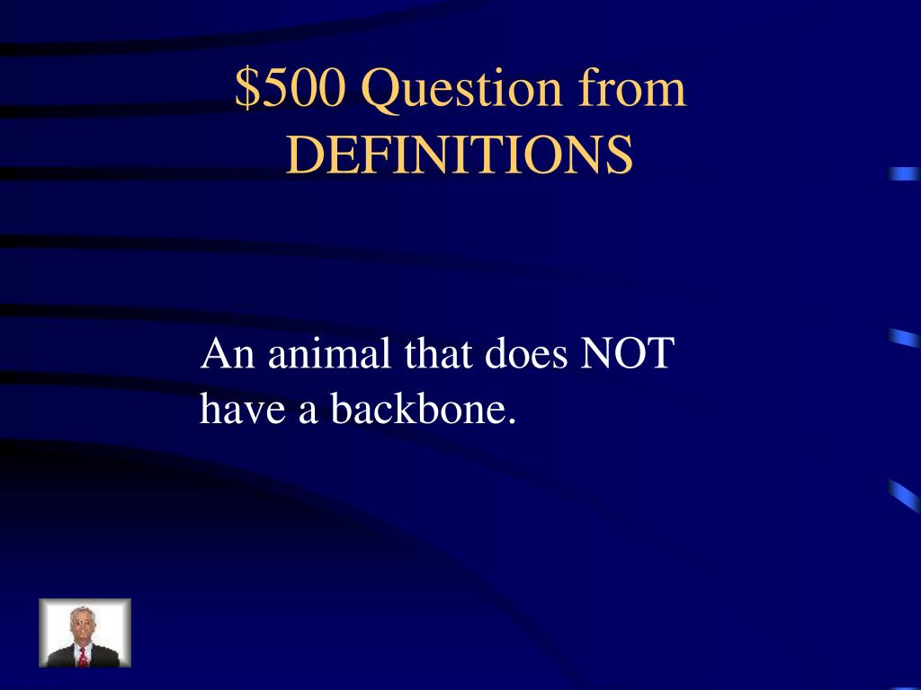 $500 Question from DEFINITIONS