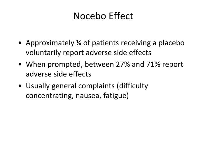 Nocebo Effect