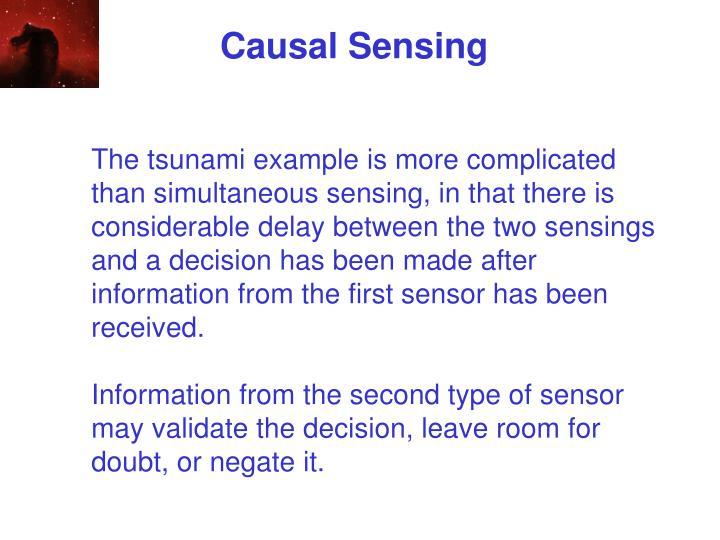 Causal Sensing