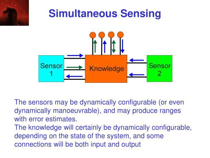 Simultaneous Sensing