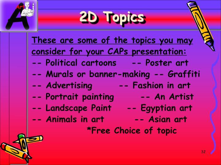 2D Topics