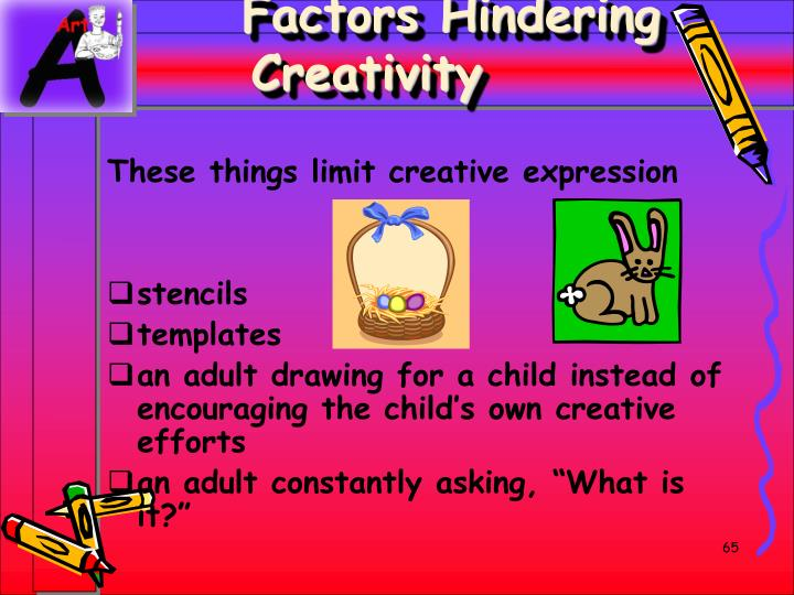 Factors Hindering Creativity