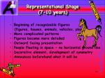 representational stage 7 10 years