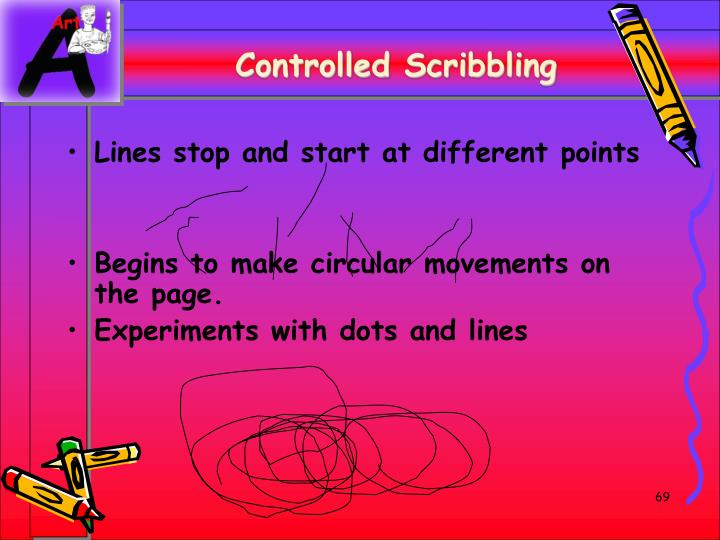 Controlled Scribbling