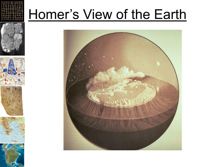Homer's View of the Earth