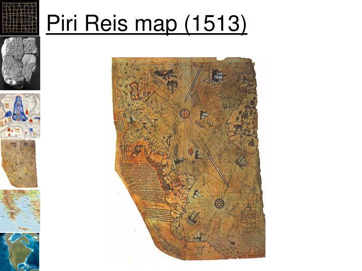 Piri Reis map (1513)