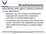reviewing documents1